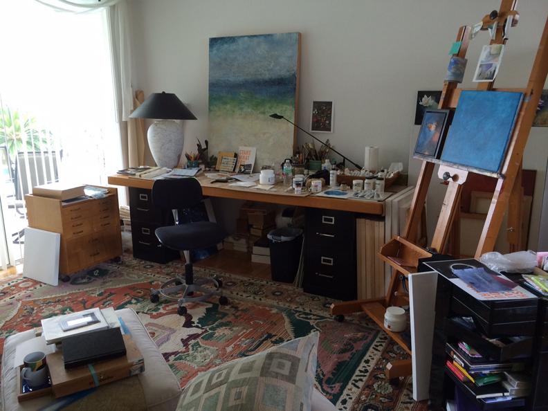 824MyStudio My Art Studio In The Living Room